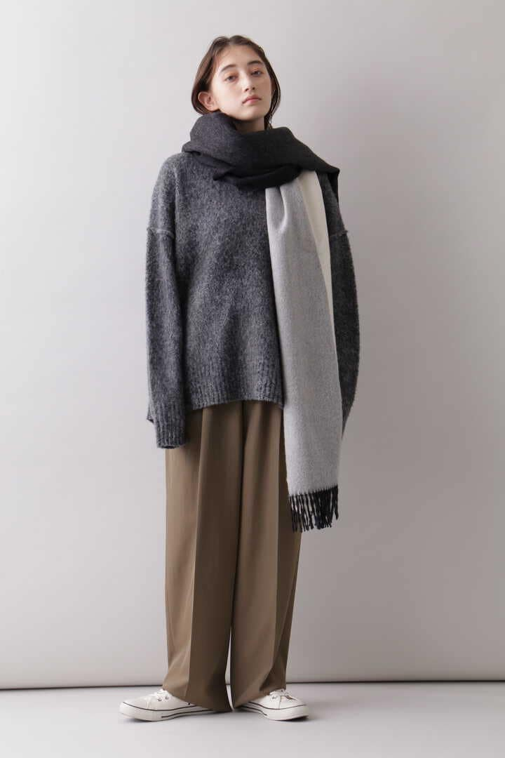 YLÈVE / THE INOUE BROTHERS DOUBLE FACE BRUSHED STOLE9