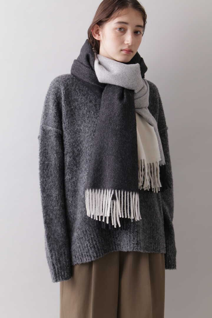 YLÈVE / THE INOUE BROTHERS DOUBLE FACE BRUSHED STOLE7