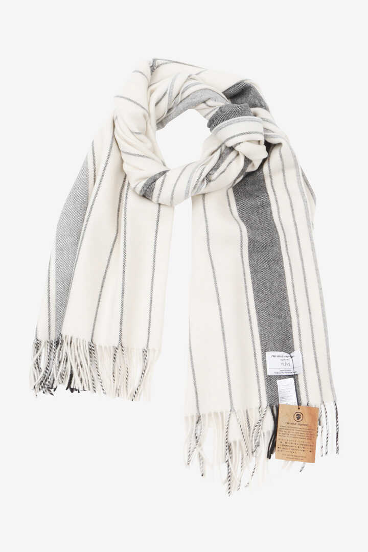 YLÈVE / THE INOUE BROTHERS DOUBLE FACE BRUSHED STOLE1