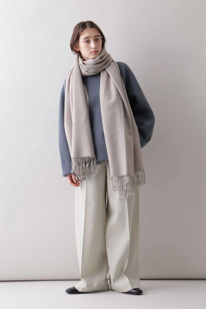 YLÈVE / THE INOUE BROTHERS DOUBLE FACE BRUSHED STOLE15