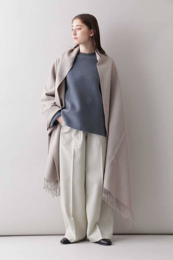 YLÈVE / THE INOUE BROTHERS DOUBLE FACE BRUSHED STOLE16