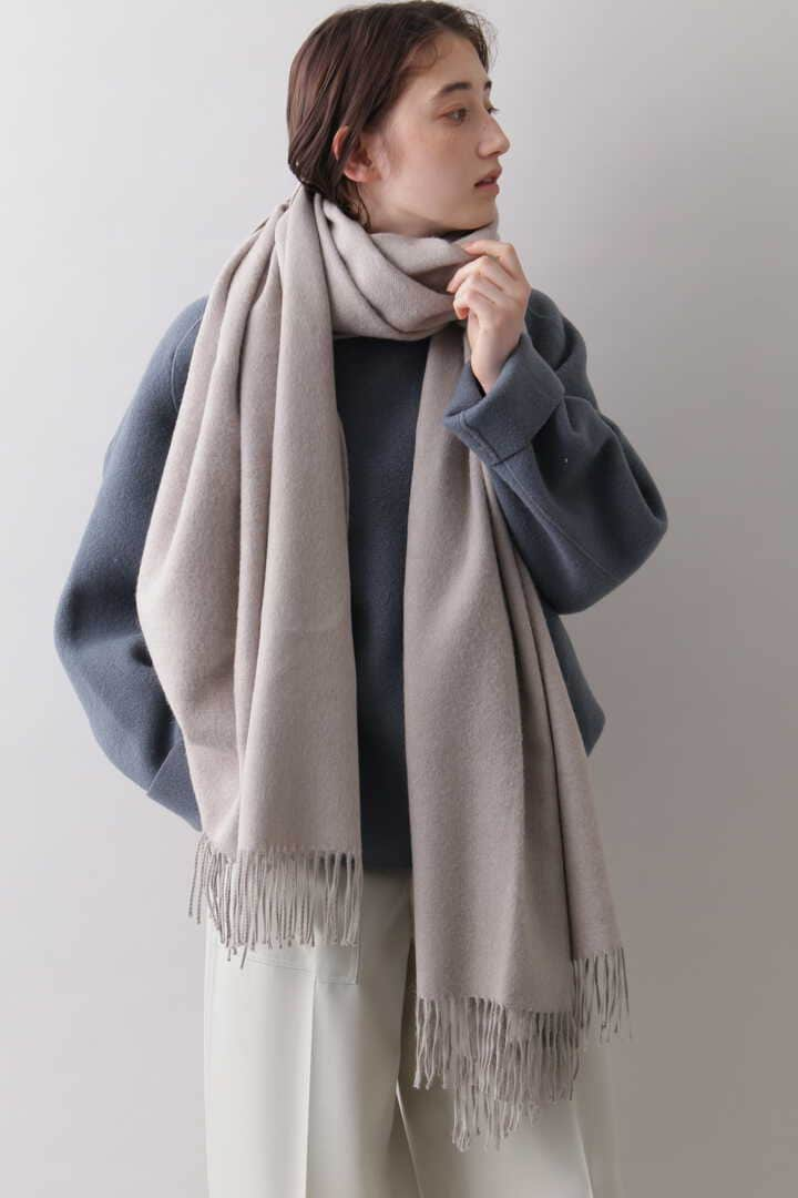 YLÈVE / THE INOUE BROTHERS DOUBLE FACE BRUSHED STOLE14