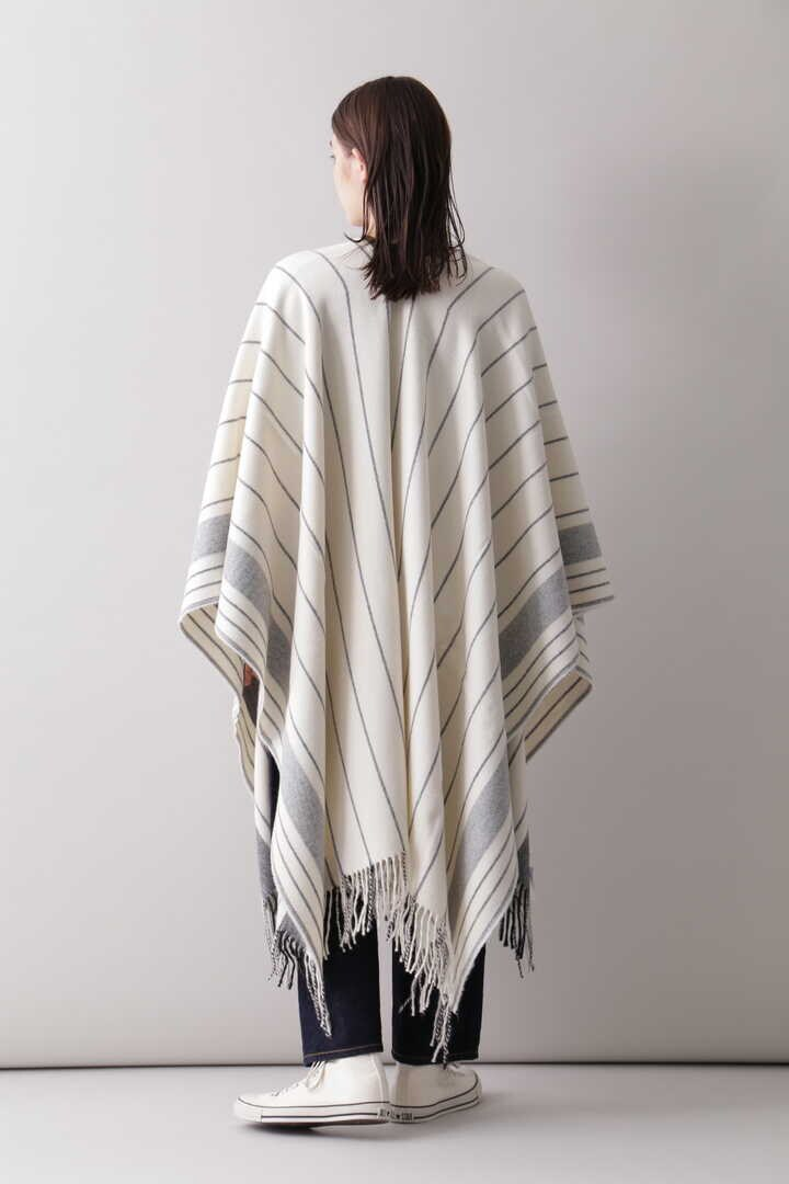 YLÈVE / THE INOUE BROTHERS DOUBLE FACE BRUSHED PONCHO8