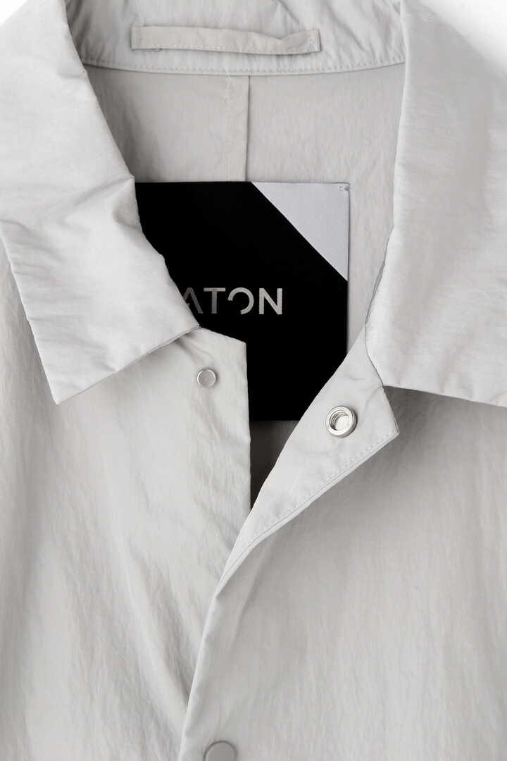 ATON /JNATURAL DYE NYLON COACH JACKET4