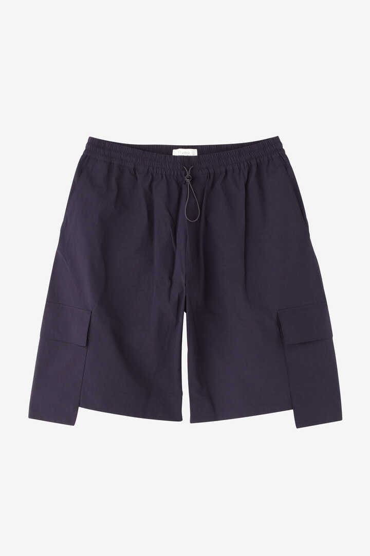 STUDIO NICHOLSON / TECHNICAL NYLON DROPPED POCKET ELASTICATED SHORT1