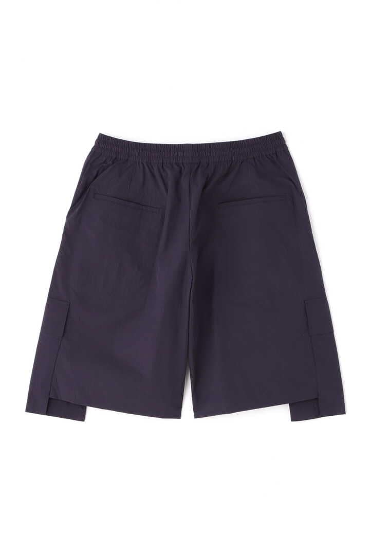 STUDIO NICHOLSON / TECHNICAL NYLON DROPPED POCKET ELASTICATED SHORT2