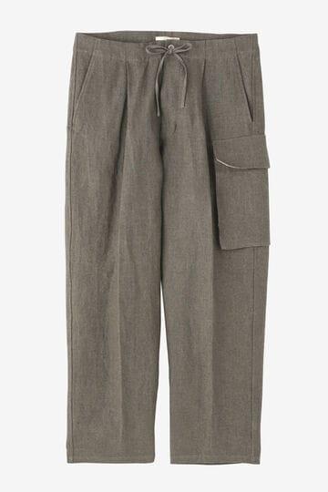 BLURHMS / WASH LINEN 5P EASY PANTS_020