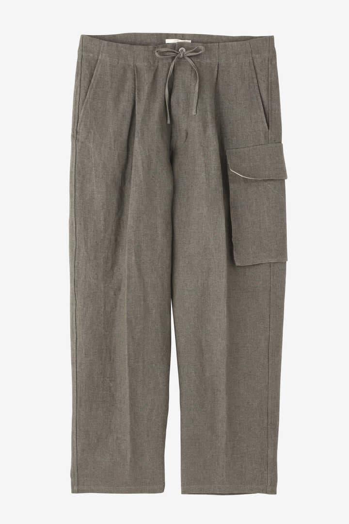 BLURHMS / WASH LINEN 5P EASY PANTS1