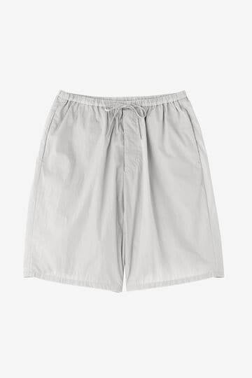 ATON / NATURAL DYE NYLON EASY WIDE SHORTS_020