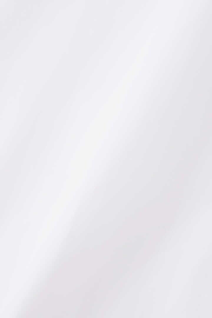 STUDIO NICHOLSON / POWDER COTTON BOWLING PLEAT COLLARLESS SHIRT7