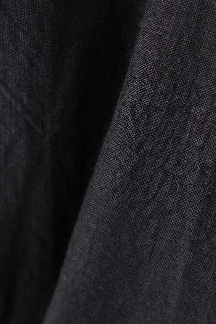 [別注]BLURHMS / WASHED LINEN STAND-UP COLLAR SHIRT10