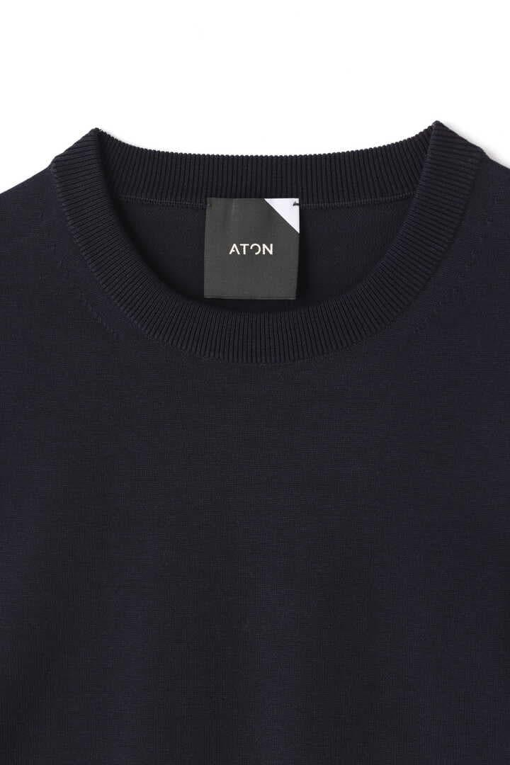 ATON / ORGANIC COTTON NATURAL DYE OVERSIZED T-SHIRTS3