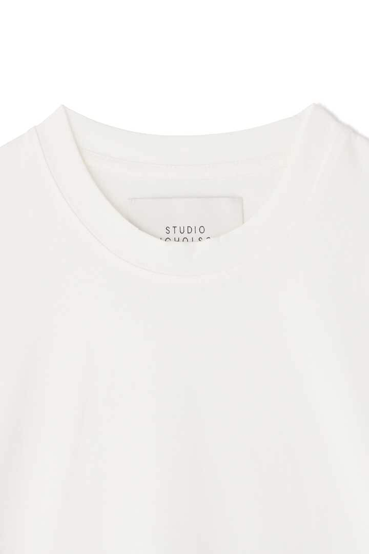 STUDIO NICHOLSON / MERCERIZED COTTON MENS SHORT SLEEVE T-SHIRT3