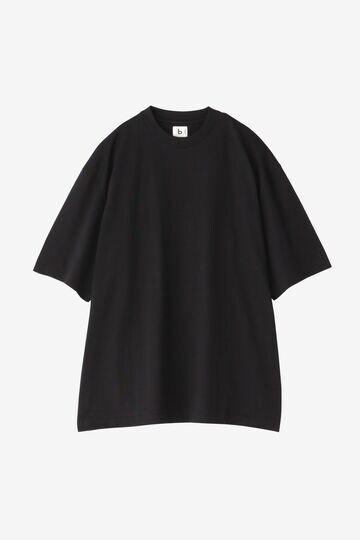 BLURHMS / SILK COTTON 20/80 CREW NECK BIG S/S_010