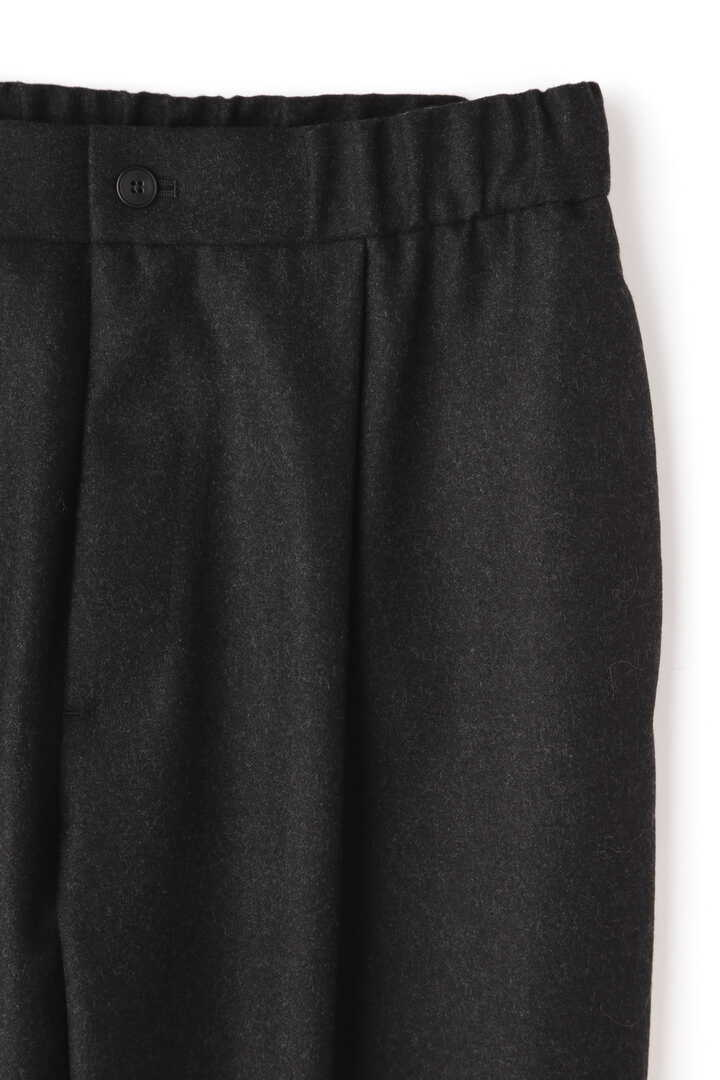 ATON / WOOL SAXONY TAPERED EASY PANTS3