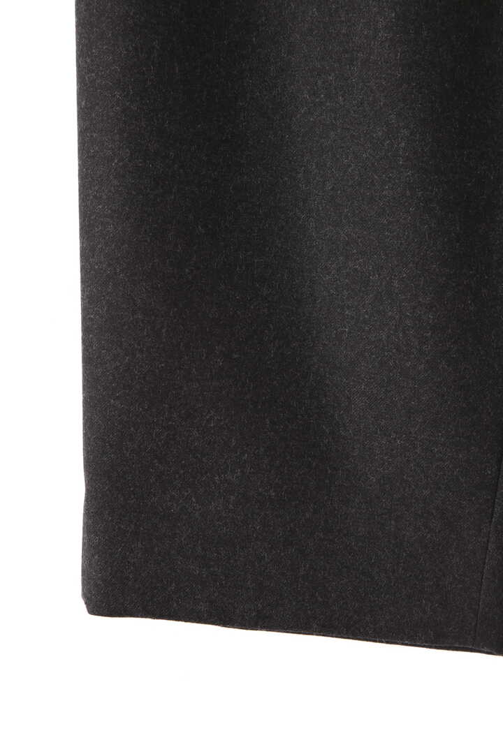ATON / WOOL SAXONY TAPERED EASY PANTS4
