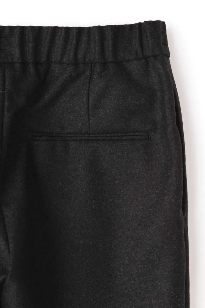 ATON / WOOL SAXONY TAPERED EASY PANTS5