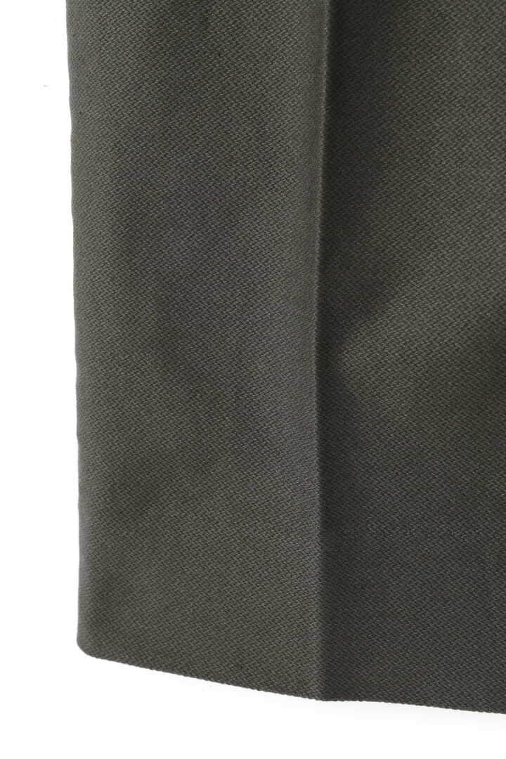 BLURHMS / BROKEN CLOTH CURVE FRONT SLACKS5