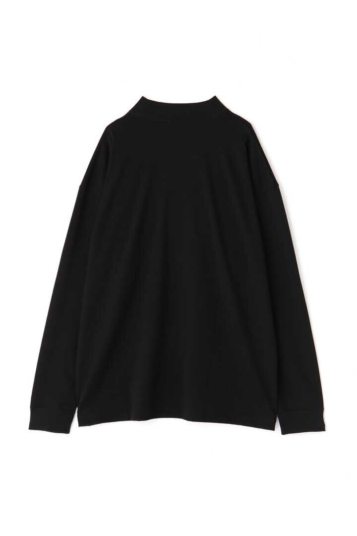 ATON / SUVIN AIR SPINNING MOCK-NECK PULLOVER2