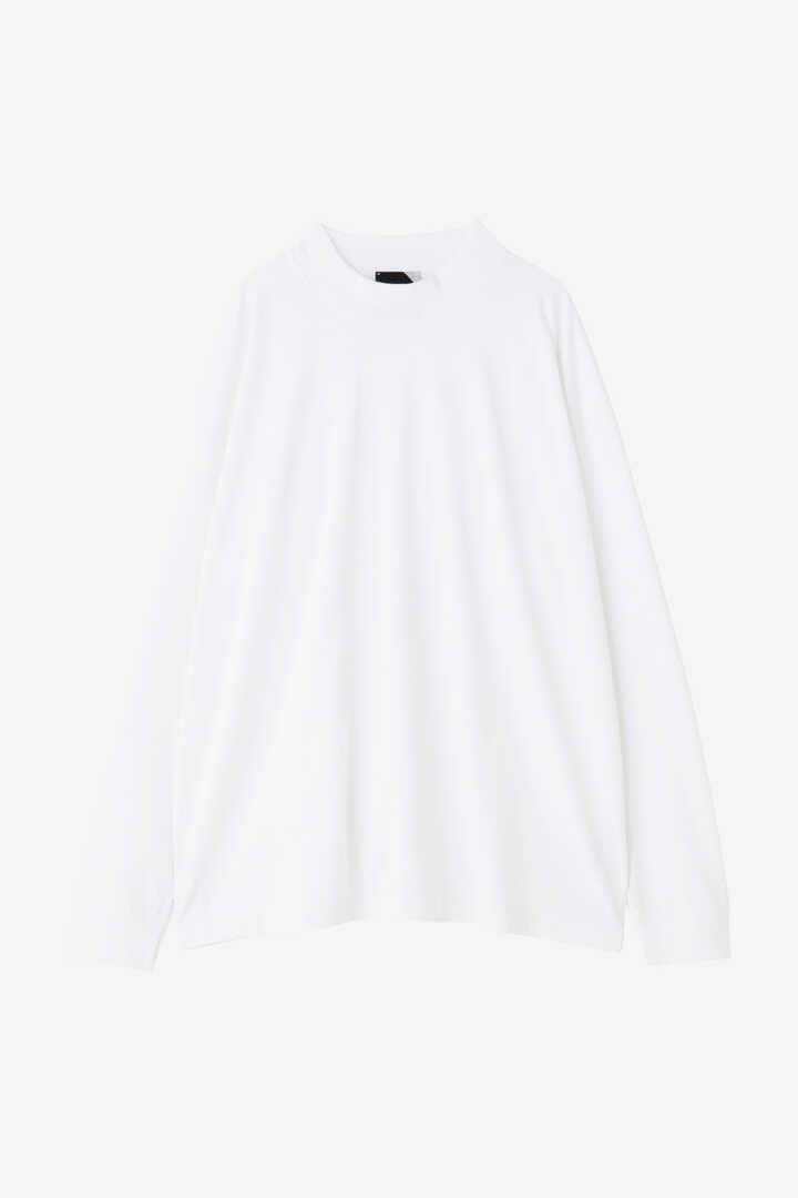 ATON / SUVIN AIR SPINNING MOCK-NECK PULLOVER7