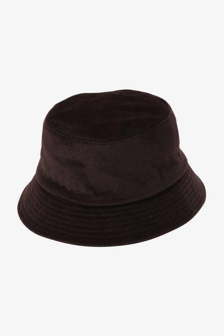 KIJIMA TAKAYUKI / ANGOLA WOOL BEAVER BUCKET HAT1