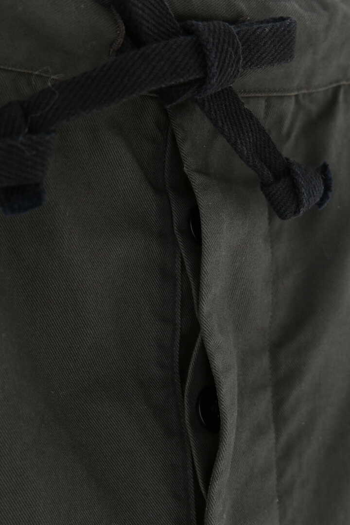 THE LIBRARY / [UNISEX] ORGANIC CTN TWILL TAPERED TR10