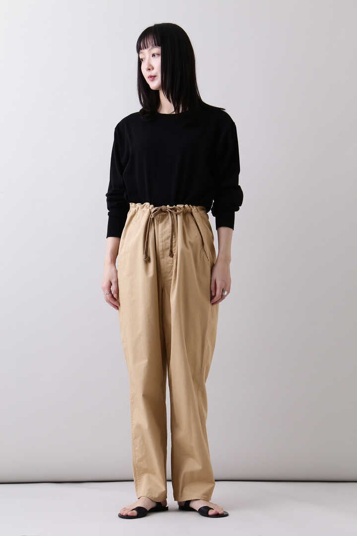 THE LIBRARY / [UNISEX] ORGANIC CTN TWILL TAPERED TR17