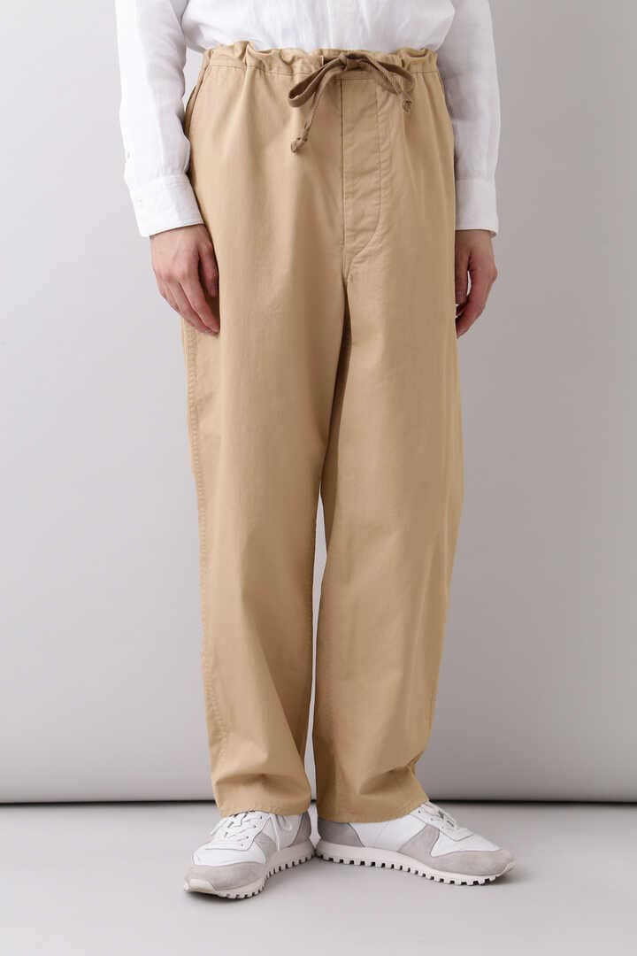 THE LIBRARY / [UNISEX] ORGANIC CTN TWILL TAPERED TR18