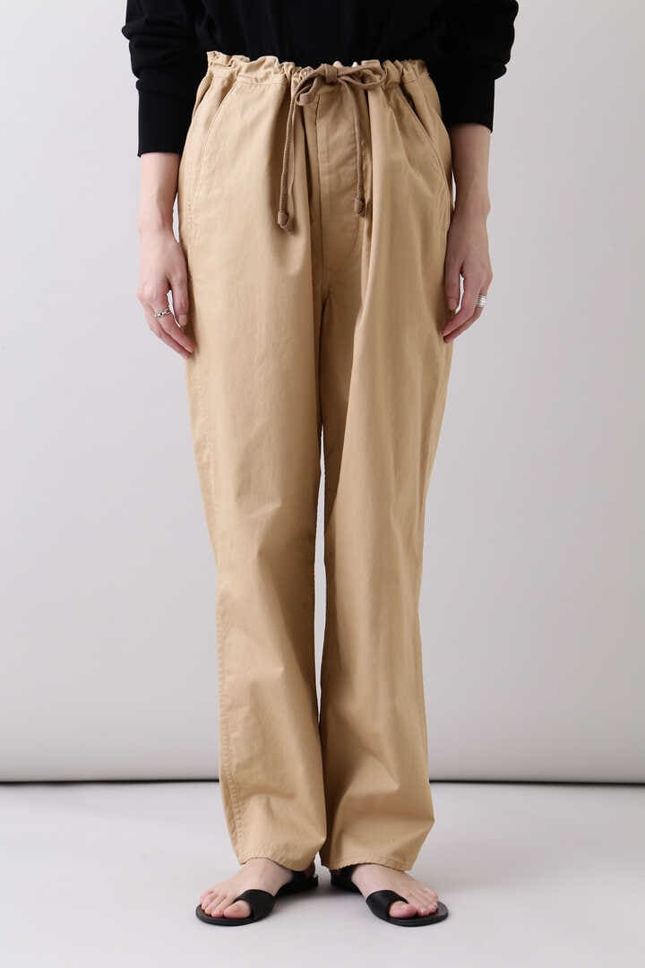 THE LIBRARY / [UNISEX] ORGANIC CTN TWILL TAPERED TR16
