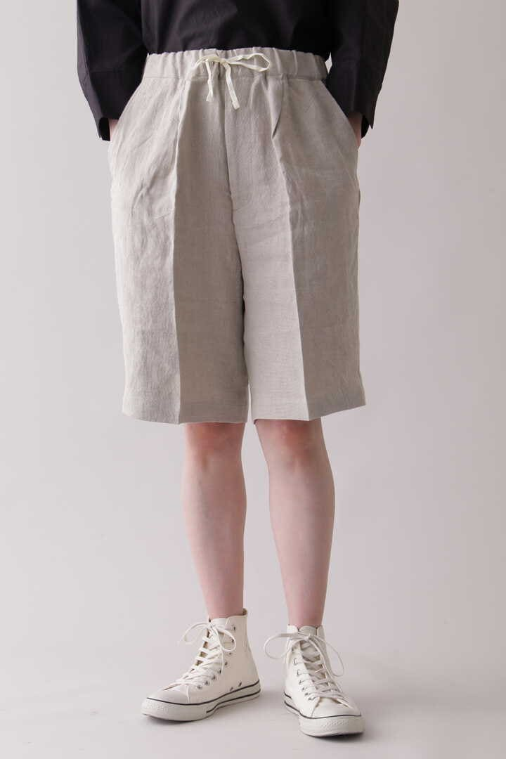 THE LIBRARY / [UNISEX] LINEN EASY SHORTS9
