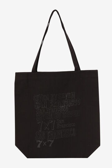 SEVEN BY SEVEN / SOUVERNIR TOTE BAG Logo designed by Shimoda Masakatsu_010