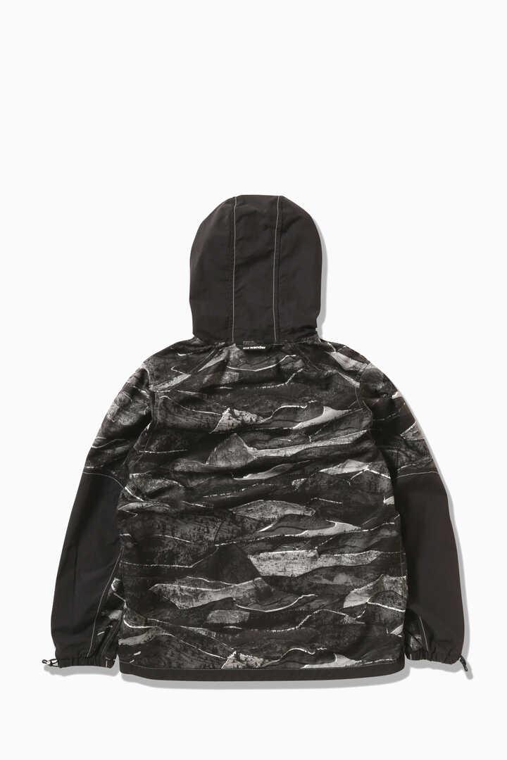printed vent hoodie