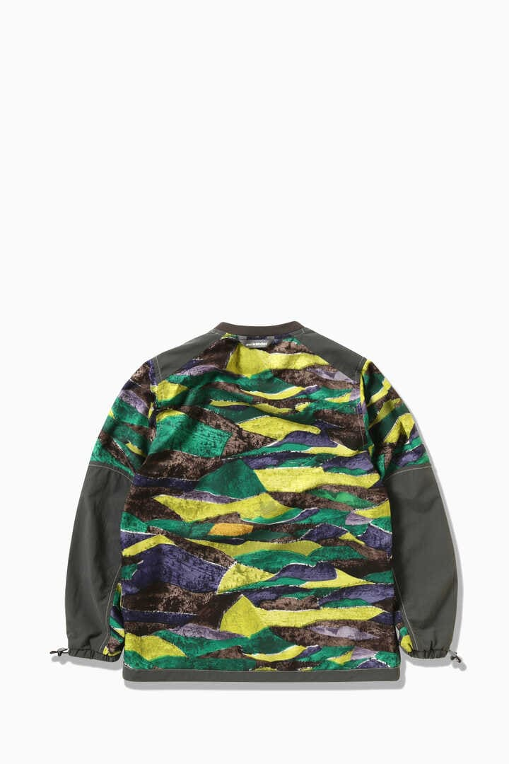 printed vent pullover