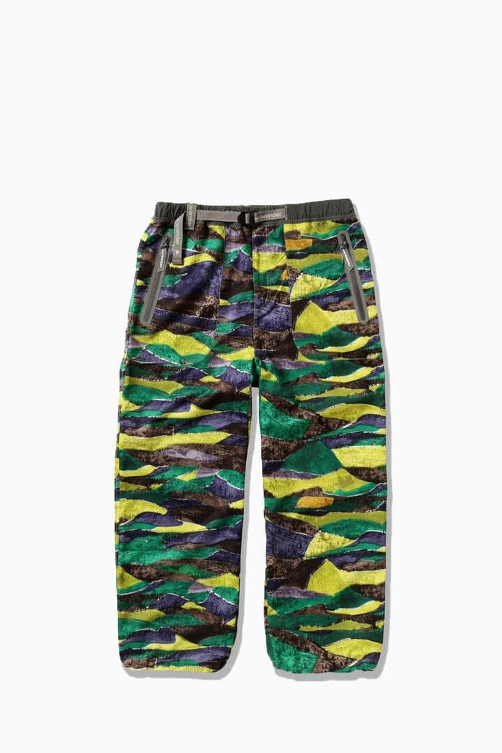 printed vent pants