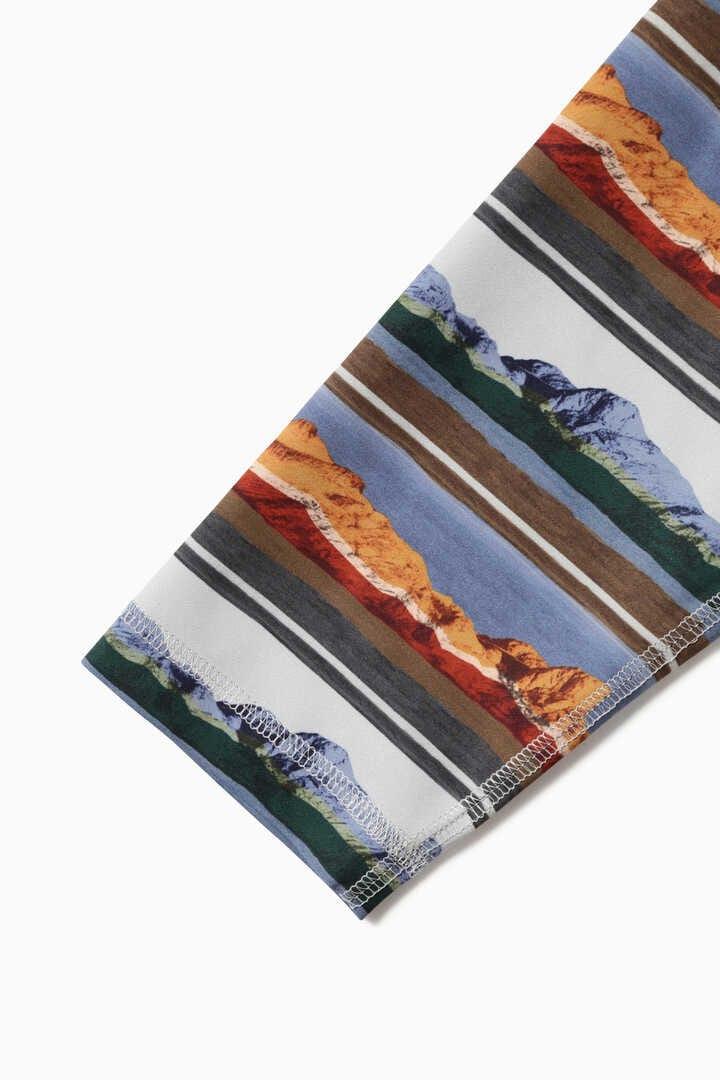 printed UV shield base long sleeve T