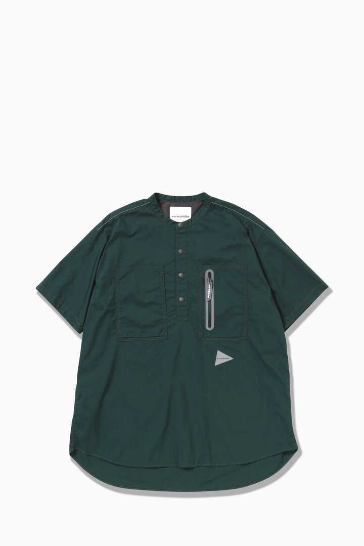 laser hole over dry short sleeve shirt