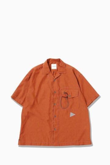 dry linen open collar shirt | shirts | and wander ONLINE STORE