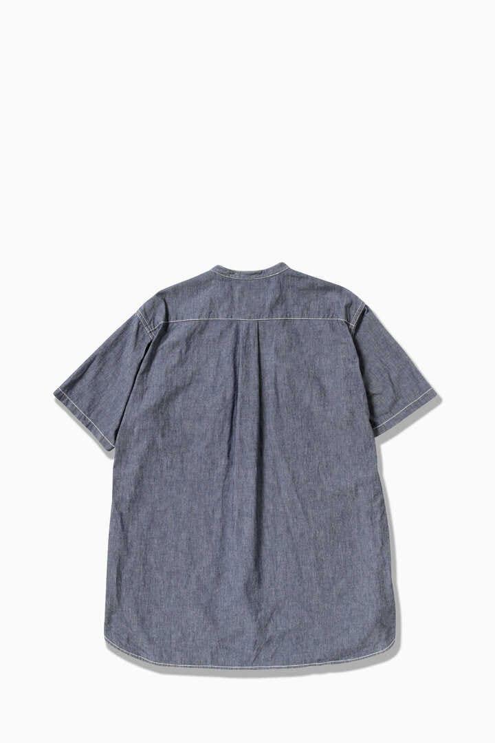 CORDURA indigo chambray short sleeve shirt