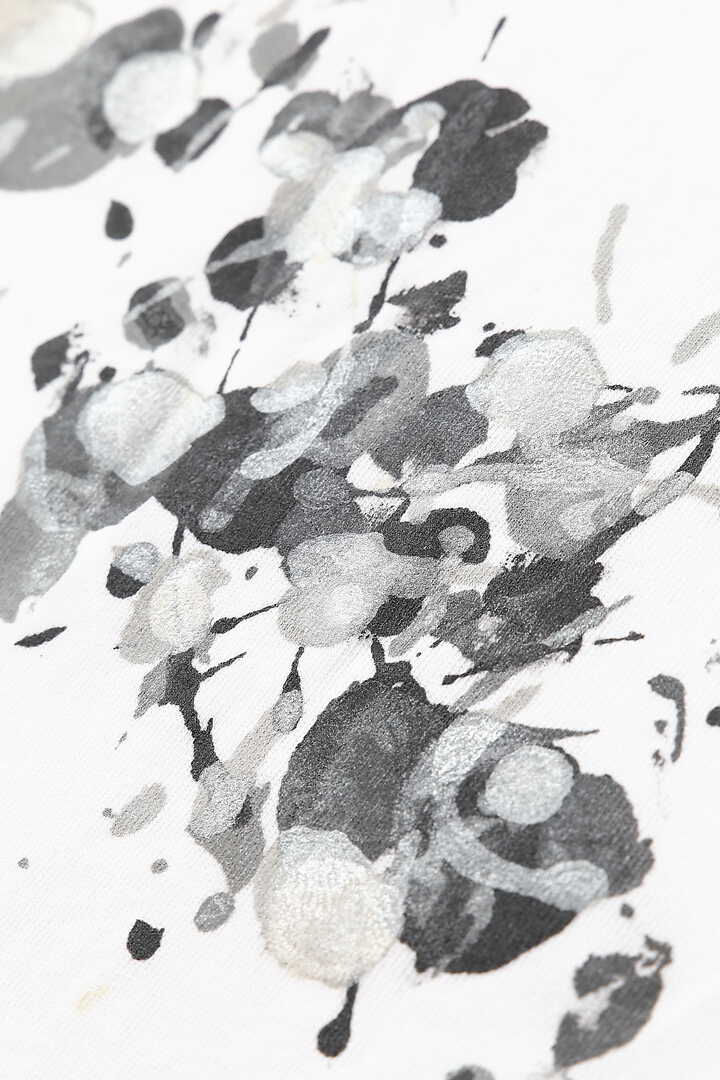 hand painted splatter T