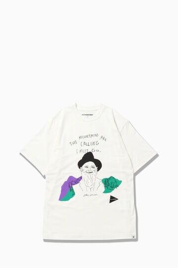 john muir by YUKO SAEKI short sleeve T