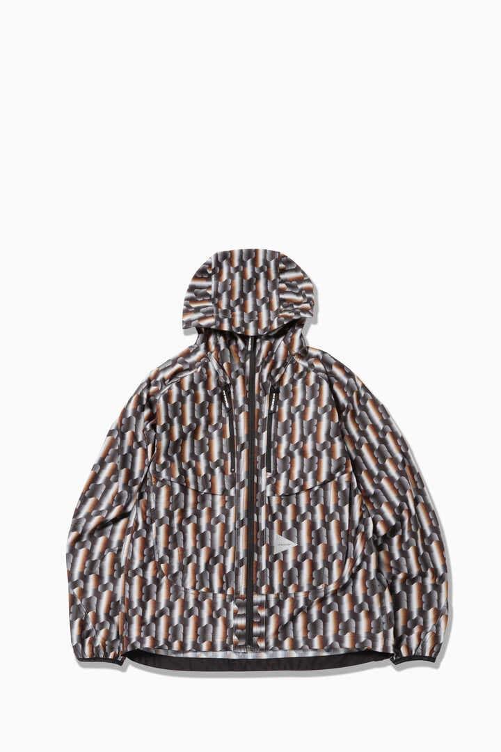 【先行予約 8月下旬入荷予定】printed raschel rip jacket