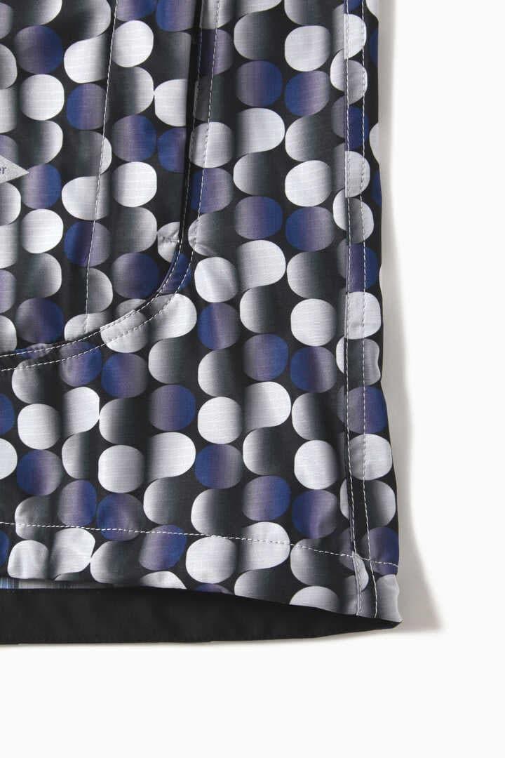 printed raschel rip jacket