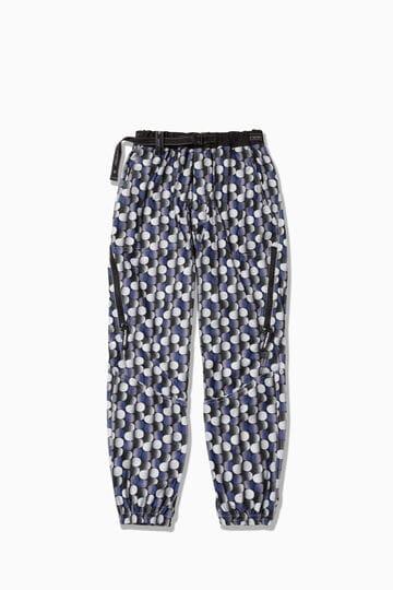 【先行予約 8月下旬入荷予定】printed raschel rip pants