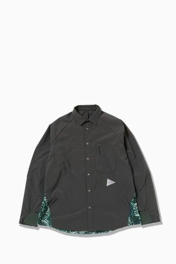printed fleece base LS shirt