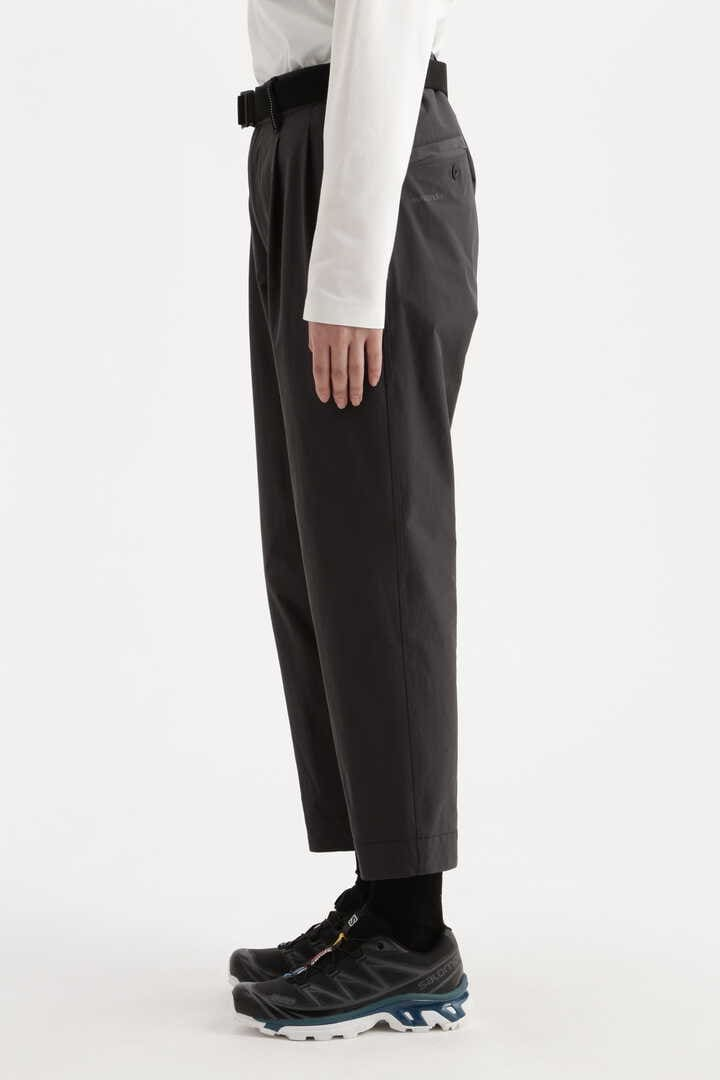 plain tapered stretch pants