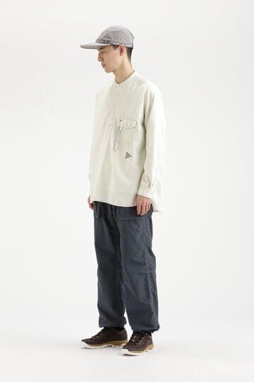 thermonel collarless LS shirt (W)