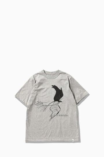 【先行予約 8月下旬入荷予定】bird printed SS T