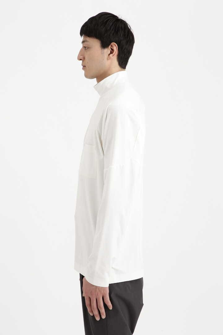plain base high neck T