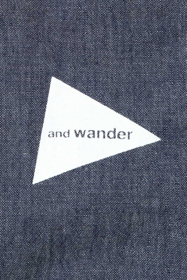 CORDURA indigo chambray shirt (M)