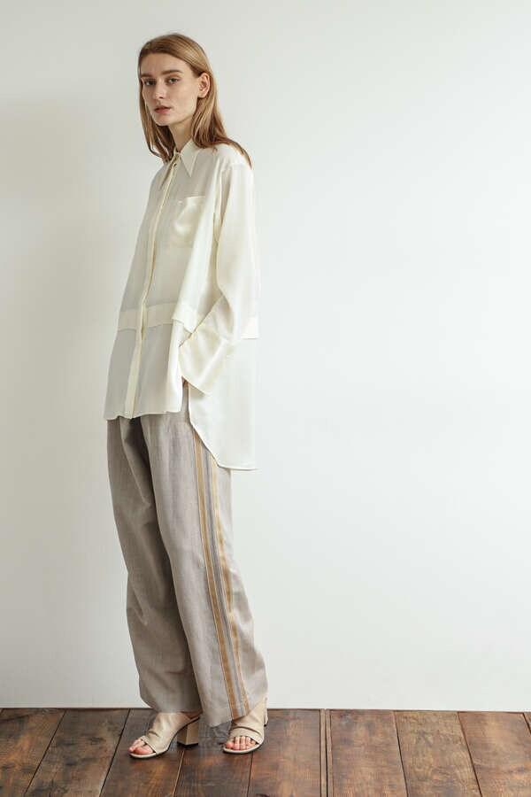 Combination Long Pointed Collar Shirting